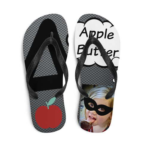 A Is For Apple butter-Flip-Flops