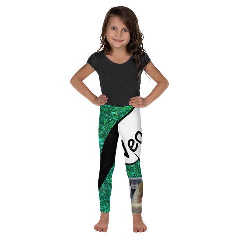 V Is For Veggies-Kids' Leggings