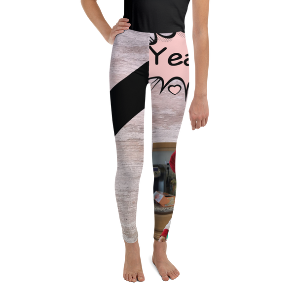 Y Is For Yeast-Youth Leggings