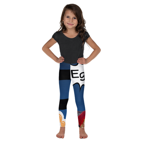 E Is For Egg-Kids' Leggings