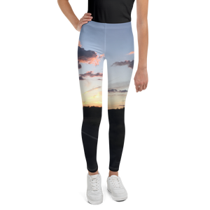 Arizona Sunset In Prescott Forest-Youth Leggings