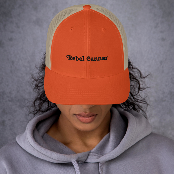 Rebel Canner-Trucker Cap