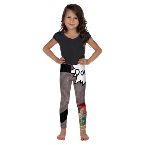 D Is For Dough-Kids' Leggings