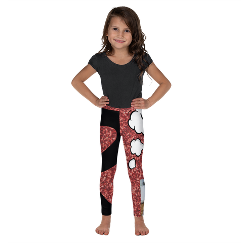 R Is For Red Velvet Cake-Kids' Leggings