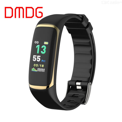 DMDG Color Screen Smart Bracelet Watch Heart Health Monitoring Elderly Measurement Heart Rate Healthy Sleep Sports Watch