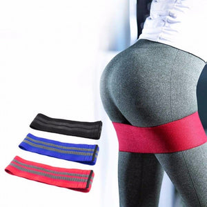 Deep Squat Hip Circle Ring Fitness Elastic Rubber Band Resistance Anti Slip Circle Yoga Tension Belt