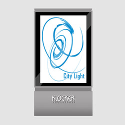 Plakat City-Light  Design