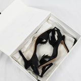 Tibi_$635 Black Star Motif Silk Ruffled Maxi Skirt_US4
