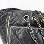 Sergio Rossi Black Leather Mid Heel Shoeboots 40