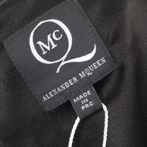 Alexander McQueen Charcoal Lace Knit Double Layered Jumper M
