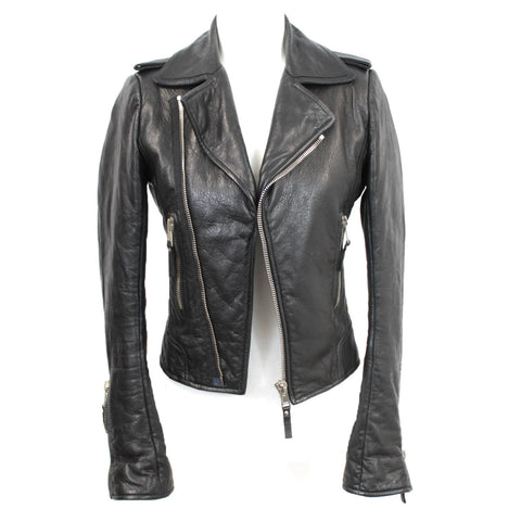 Stella McCartney £1950 Grey Wool & Cashmere Studded Cape I42