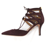 Marni_Black Ribbon & Natural Muslin Bead Necklace