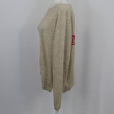 Rixo x Laura Jackson Red & Pink Striped Sequin Mini Dress S