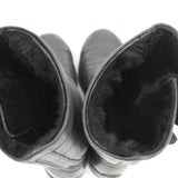 Christian Dior_Etched Antiqued Silver Two Disc Tribal Necklace