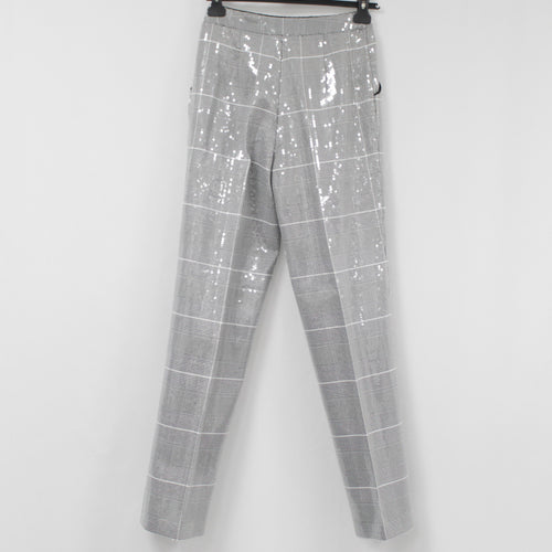 Anya Hindmarch_Dove Grey Suede Reversible Envelope Clutch Bag