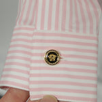 Prada Patent Black Leather Square Buckle Chunky Heels 36.5