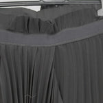Amanda Wakeley Silver Silk Faille Topstitched Jacket UK12