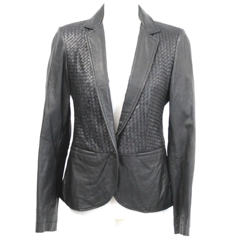 Stella McCartney_Royal Blue Wool Mix Unlined Simple Coat_F40