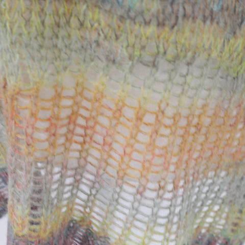 Max Mara_Black Ribbed Wool & Cashmere Asymmetric Cardigan_M