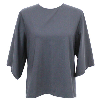 Louis Vuitton_Glossy Embossed Brown Leather Tri-Fold Wallet