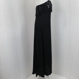 Valentino_Black Beaded & Embellished Column Halterneck Dress_I44