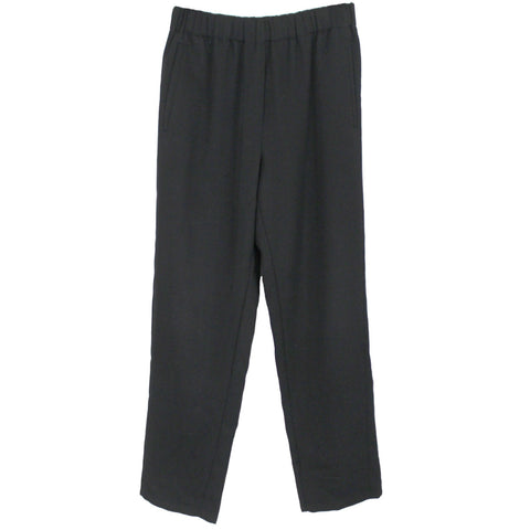 Forte Forte_Black Wool Pull-On Pants_Sz1