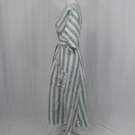 Marni Grey & Khaki Boucle Funnel Neck Coat I42