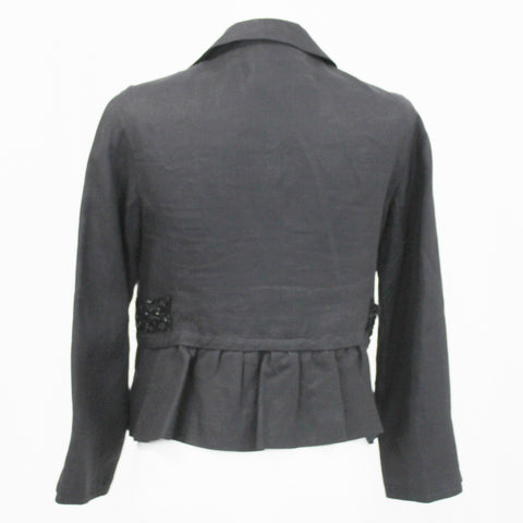 Dolce & Gabbana_Pearl & Black Leopardprint Stretch Silk Dress_I42