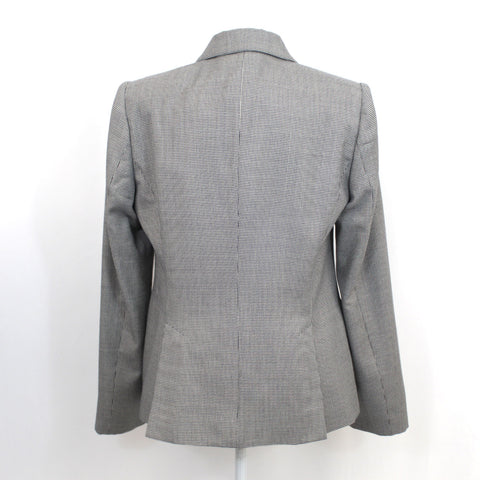 Joie Brand New Black & White Houndstooth Check Jacket S