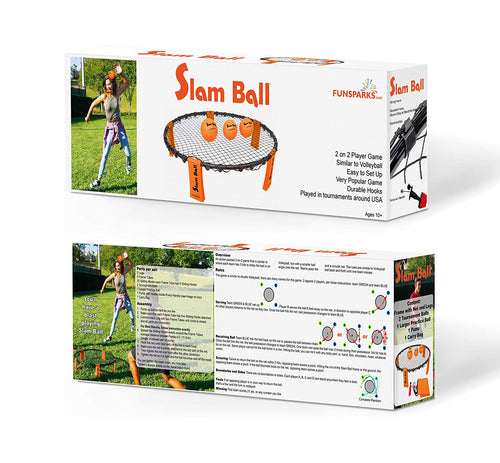 Slam Ball packaging by Funsparks