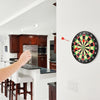 Playing Magnetic Darts in the living room