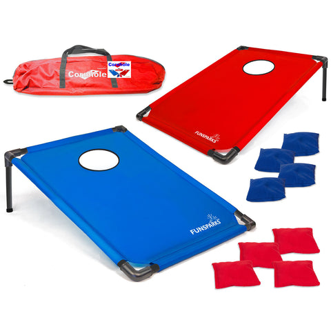 Portable Cornhole Set from Funsparks