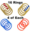 Funsparks Ring Toss comes with 16 rings