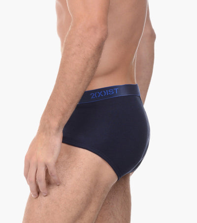 Essential Cotton Fly Front Brief 3-Pack