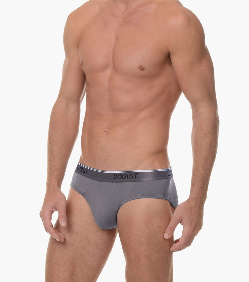 Cotton Stretch No-Show Brief 3-Pack
