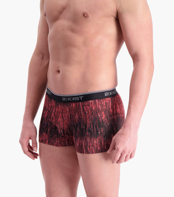 Cotton Stretch No-Show Trunk 2-Pack