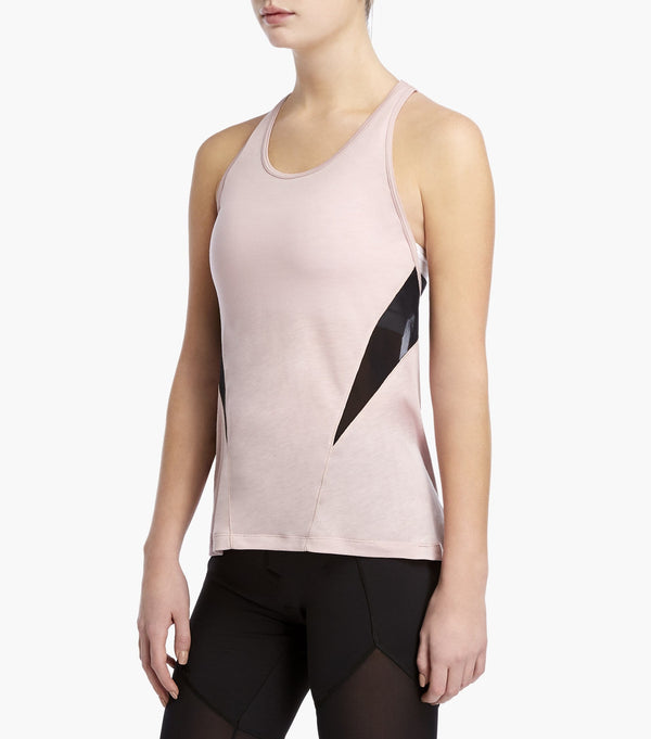 Racer Tank with Mesh