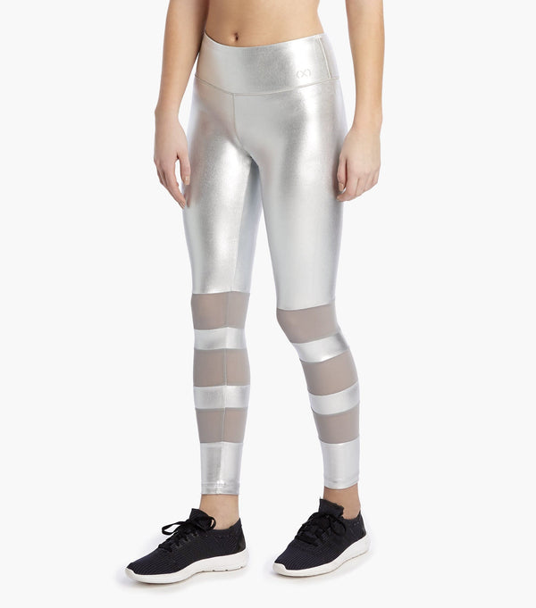 Performance Legging with Mesh