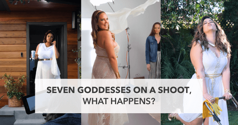 Seven Goddesses on a Shoot