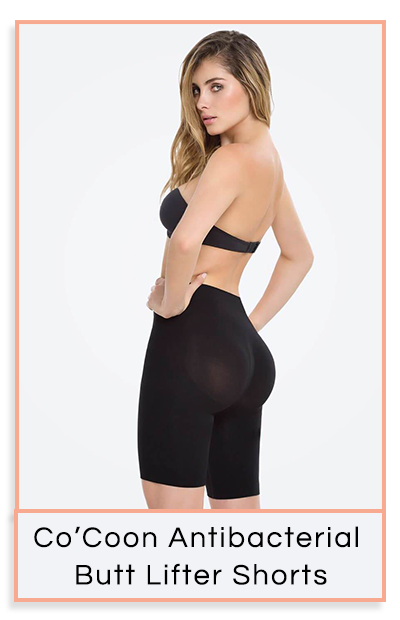 Co'Coon Seamless Antibacterial Butt Lifter Shorts