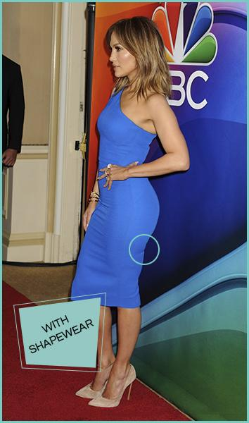 celebrity body shapers Jennifer Lopez