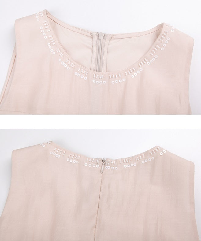 DR8962/Pink Brownish XS ready stock