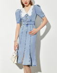 DR82102 Denim Dress/Pre-order