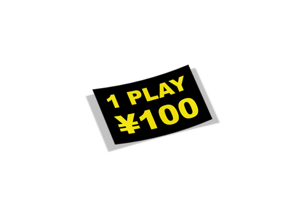 1 Play 100 Yen Mini Slap - Stickerboiz
