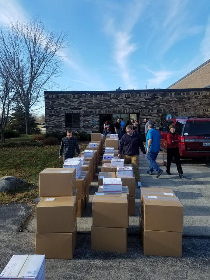 Hunzinger Military Care Packages: 1st shipment March 13th 2020