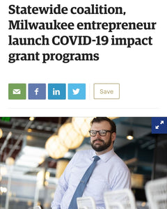 The statewide coalition, Milwaukee entrepreneur launch COVID-19 impact grant programs