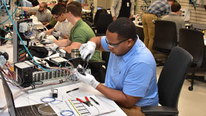 Academy of Advanced Manufacturing trains veterans for career opportunities
