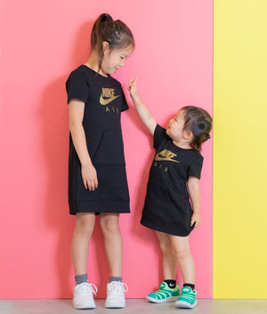 NIKE(ナイキ) GIRL NSW NIKE AIR FLC DRESS  キッズ(104-125㎝)