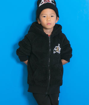 JORDAN(ジョーダン) WINGS SHERPA FULL ZIP キッズ(104-125㎝)