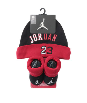 JORDAN(ジョーダン) HISTORY OF FLIGHT HAT/BOOTIE SET 2PC (帽子・ソックス) ベビー(65㎝-80㎝)